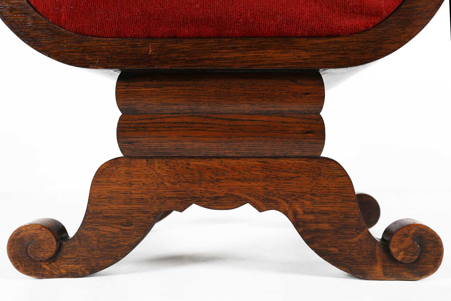 Art Deco foot stool thumbnail