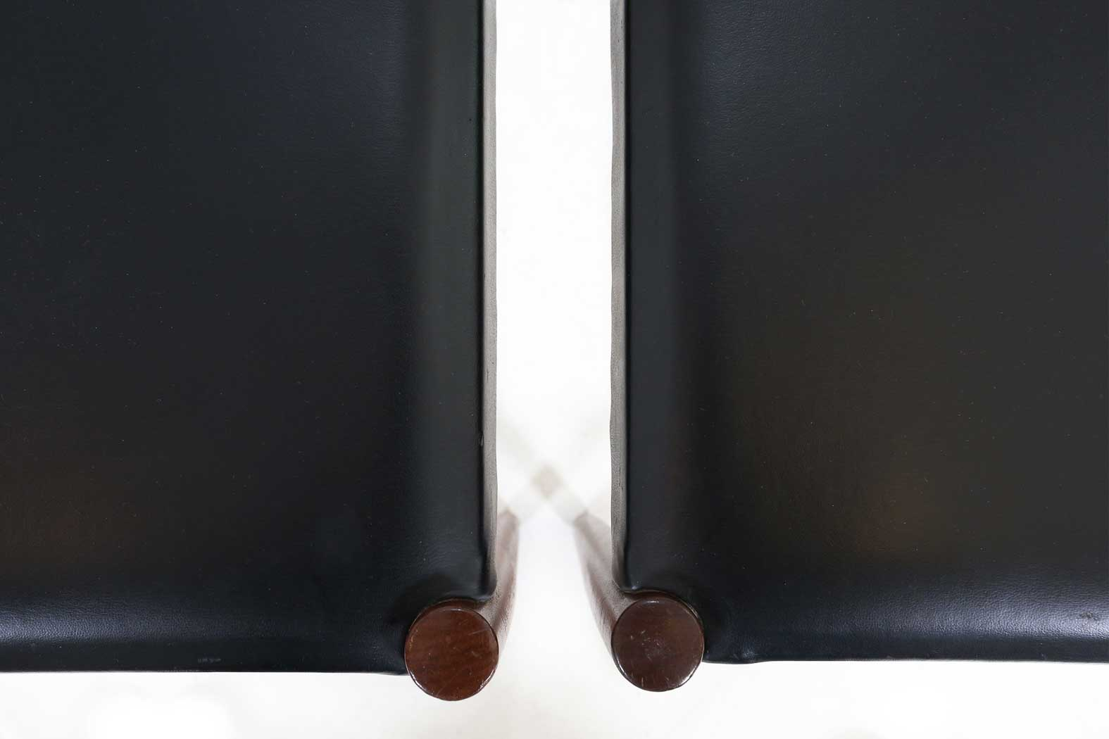 two rosewood chairs by Lübke Ca.1960thumbnail