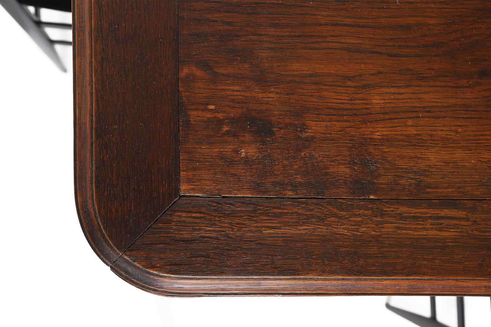 Antique oak dining table 1900thumbnail