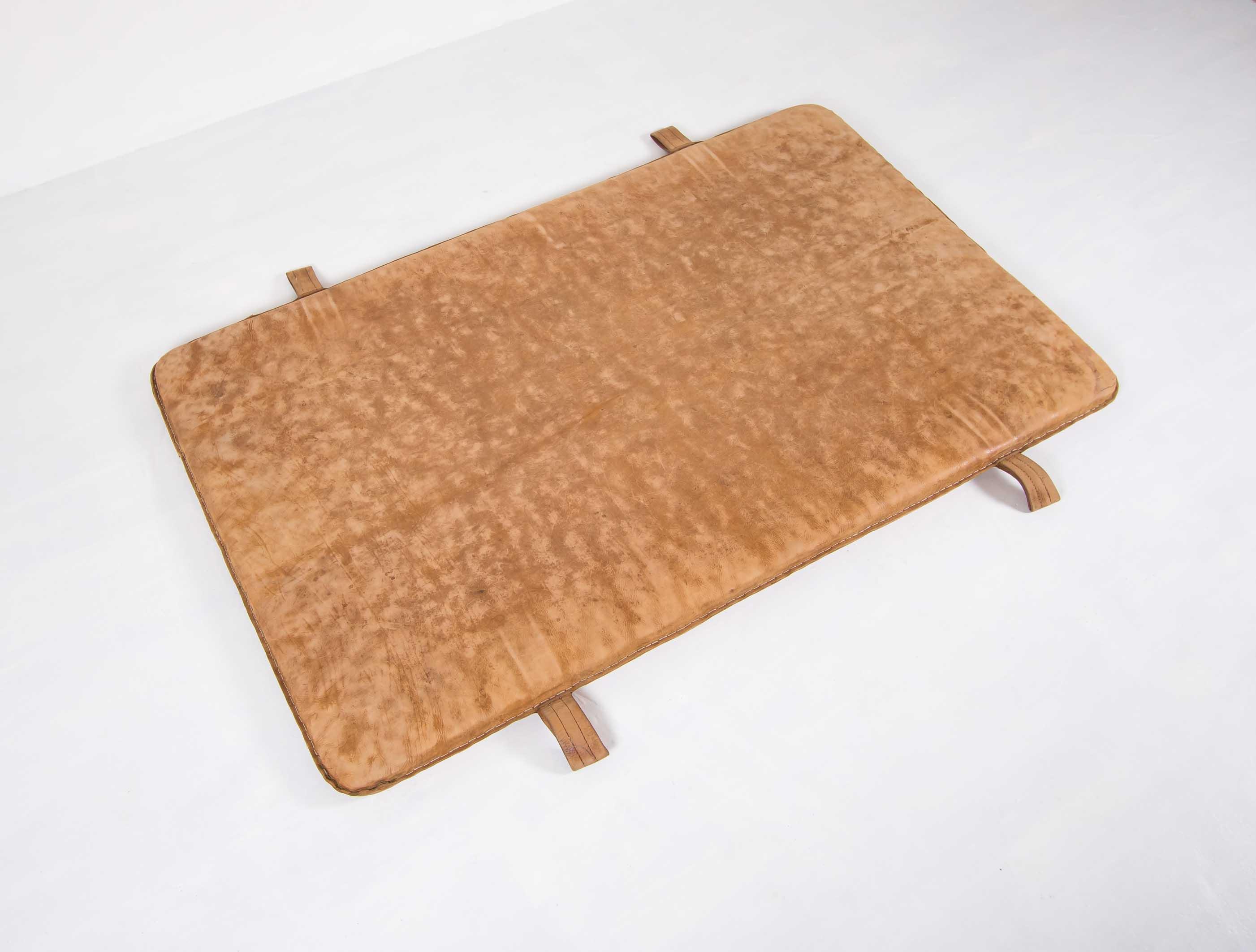 Leather gym mat Ca.1930thumbnail