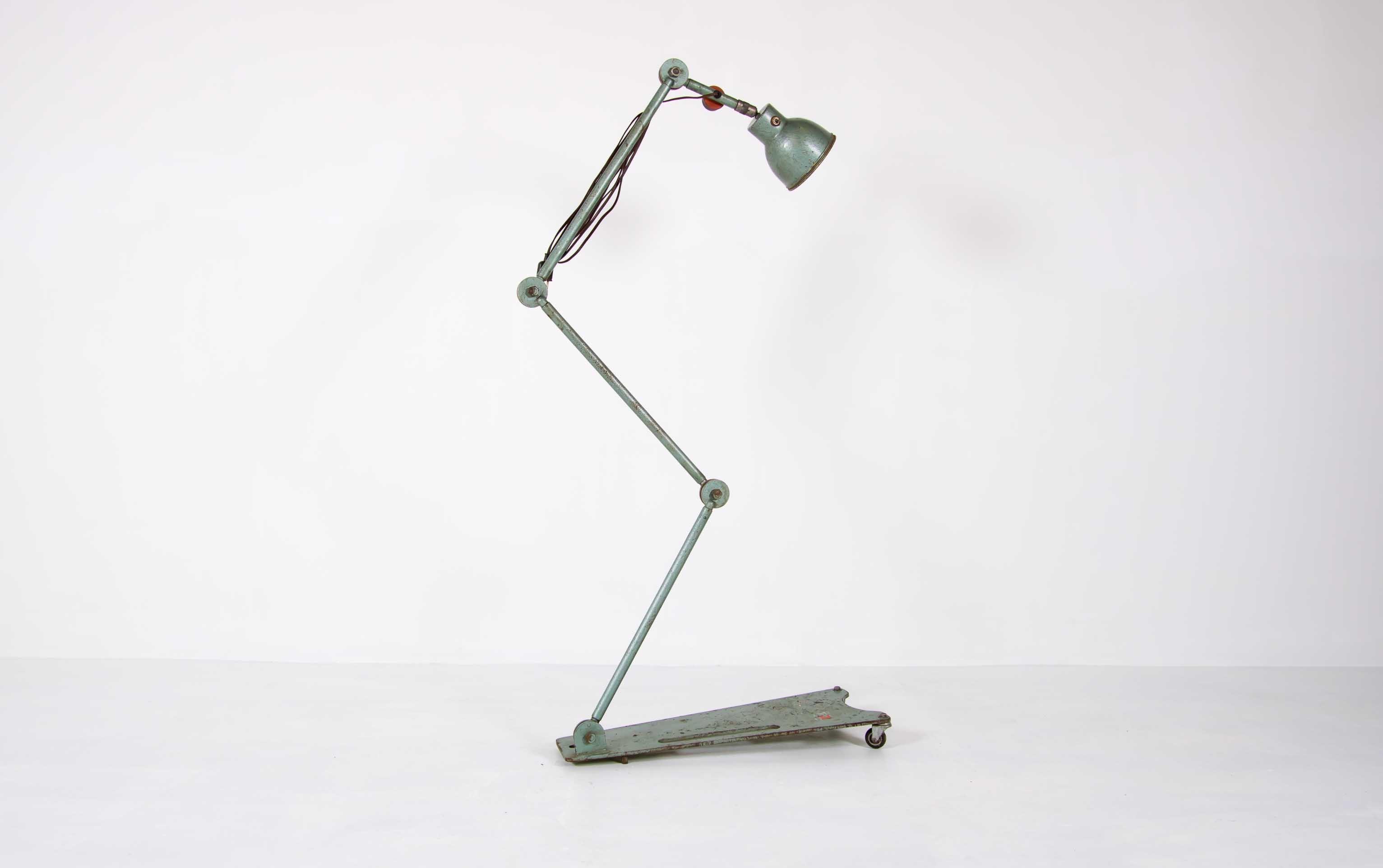 Industrial floor lamp by Devil thumbnail
