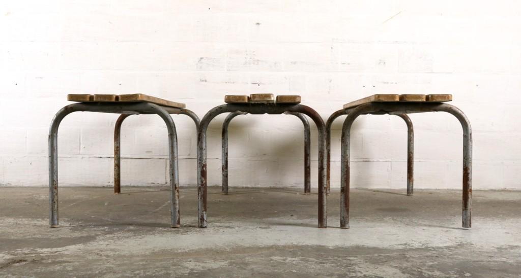 Three industrial benchesthumbnail