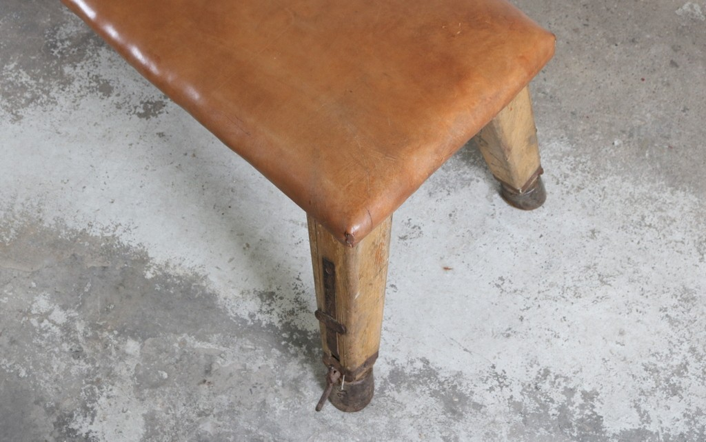 Industrial leather benchesthumbnail