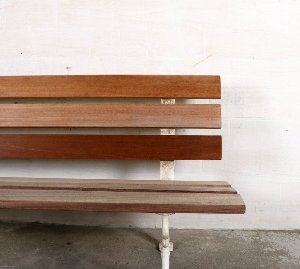 Cast iron garden bench ca.1900thumbnail