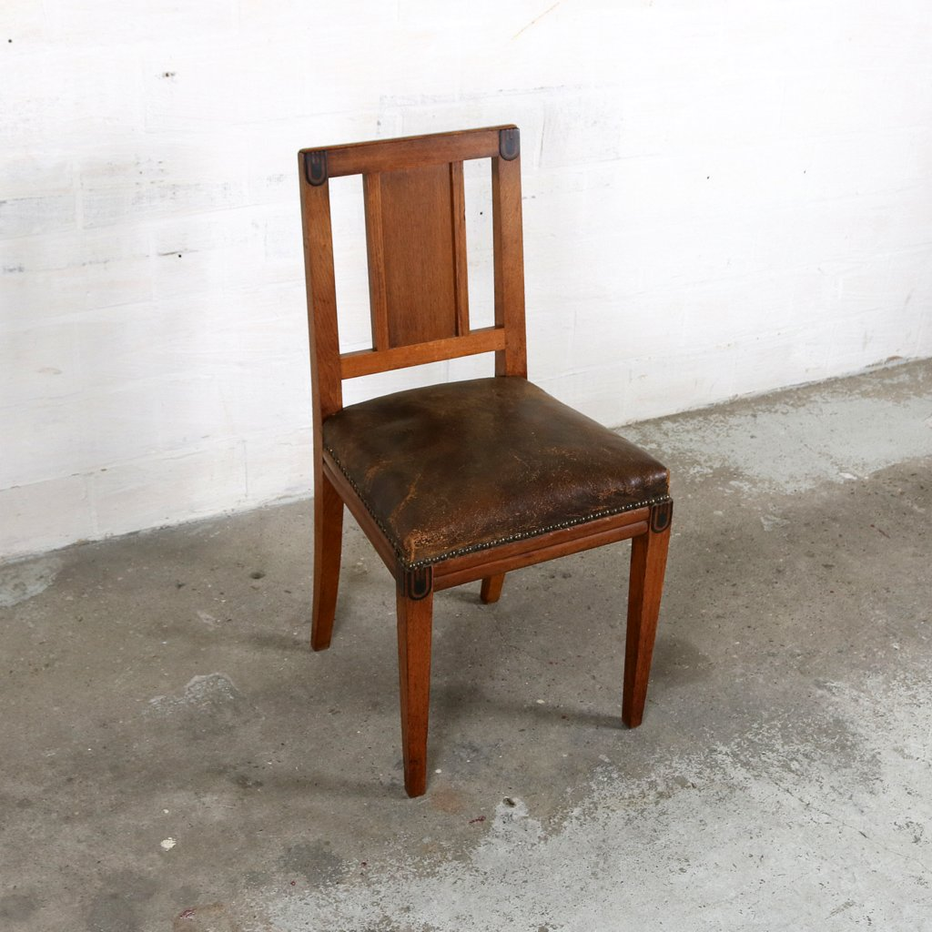 Art Deco chair by Maurice Dufrene 1925thumbnail