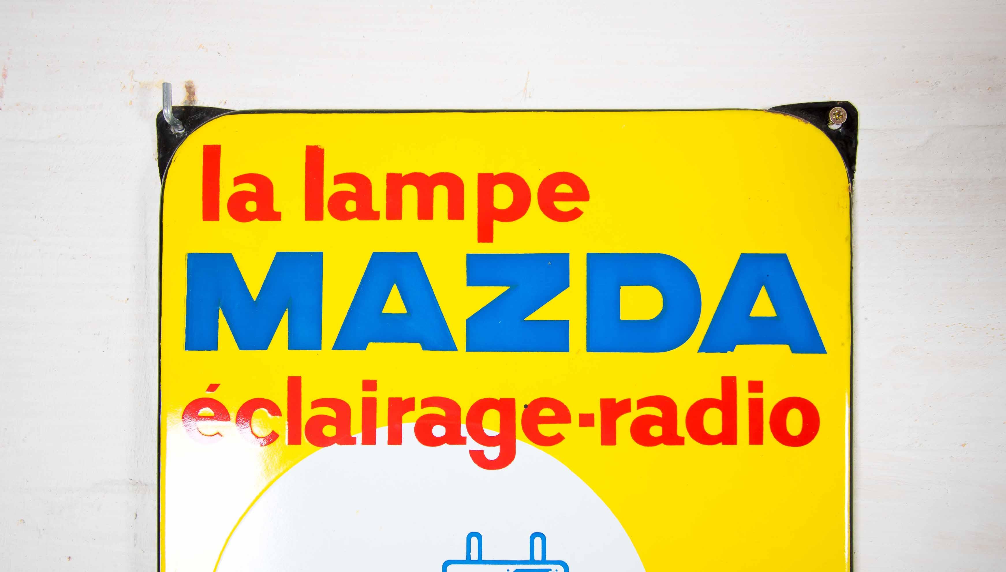 enamel sign Mazdathumbnail