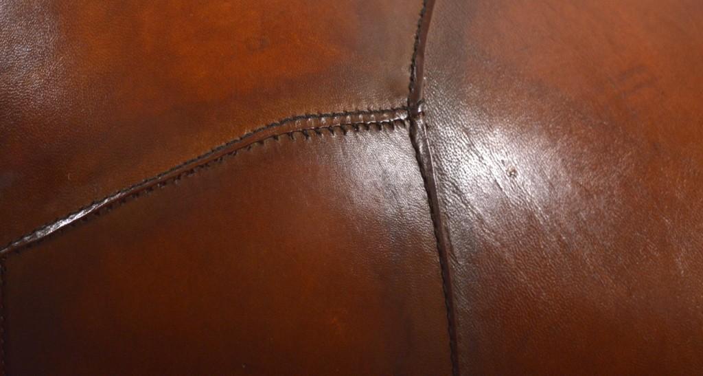 Leather footstool rhinothumbnail
