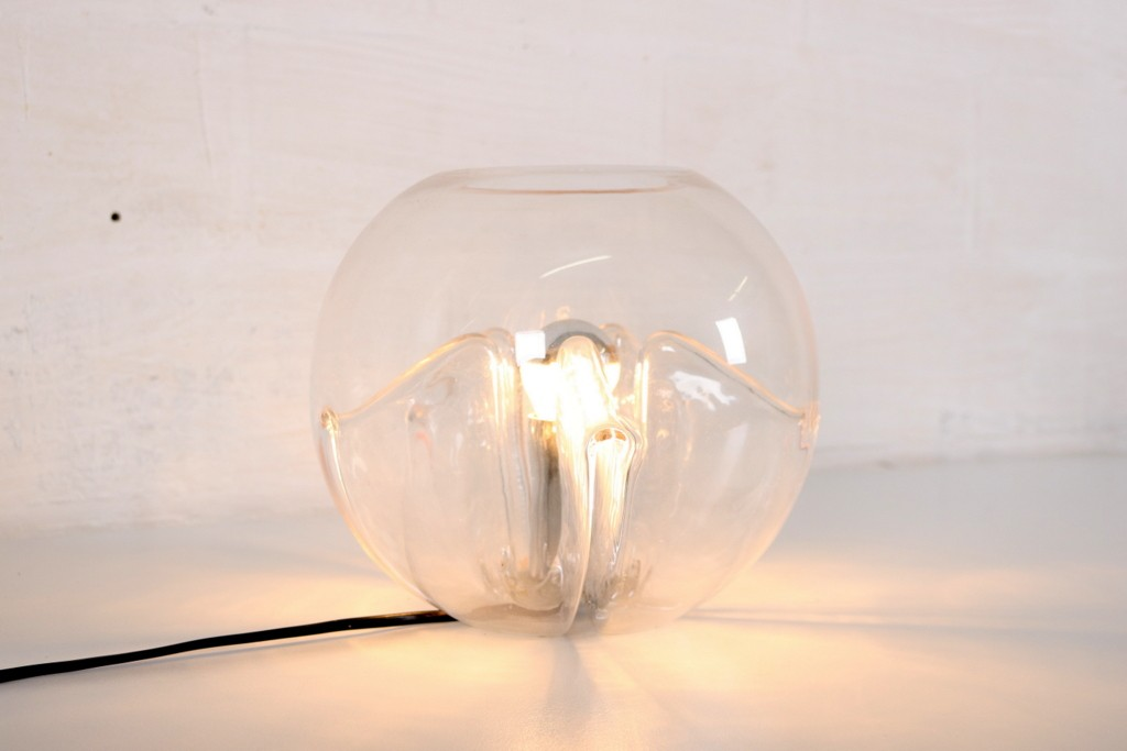 """Nuphar"" Glass lamp designed by Toni Zuccherithumbnail"