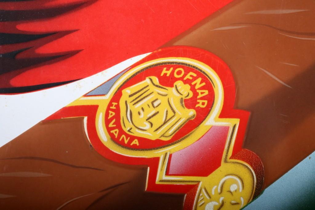 Enamel sign Hofnar cigars.thumbnail