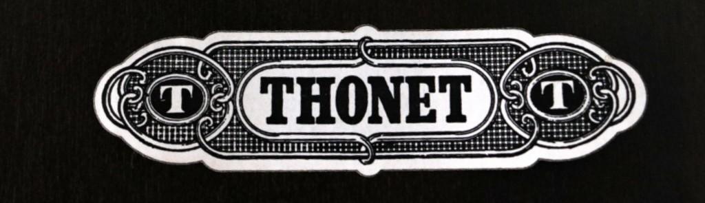 Dark wooden Thonet tablethumbnail